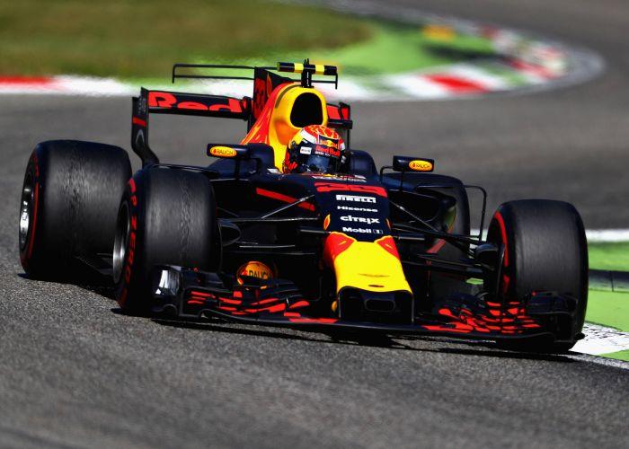 Daniel Ricciardo at Monza.