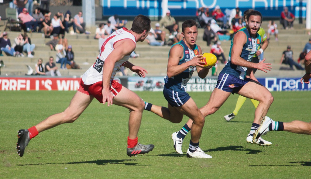 WAFL: Peel Thunder rumbles into semi final with 18-point win over South Fremantle