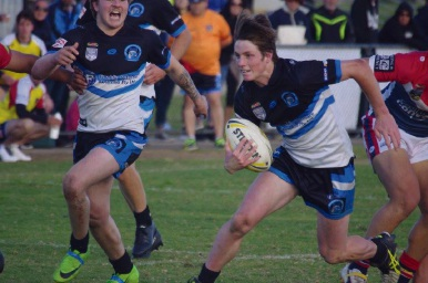 Tyler Hunt scored 22 of the Sharks 28 points. Picture: Phil Smith