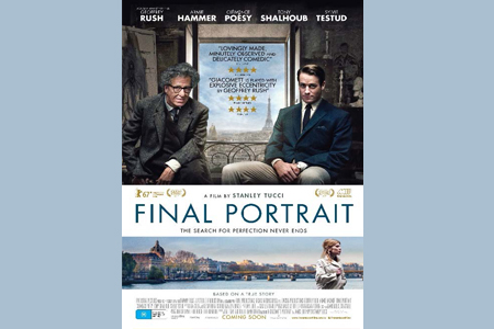 Win tickets to Final Portrait