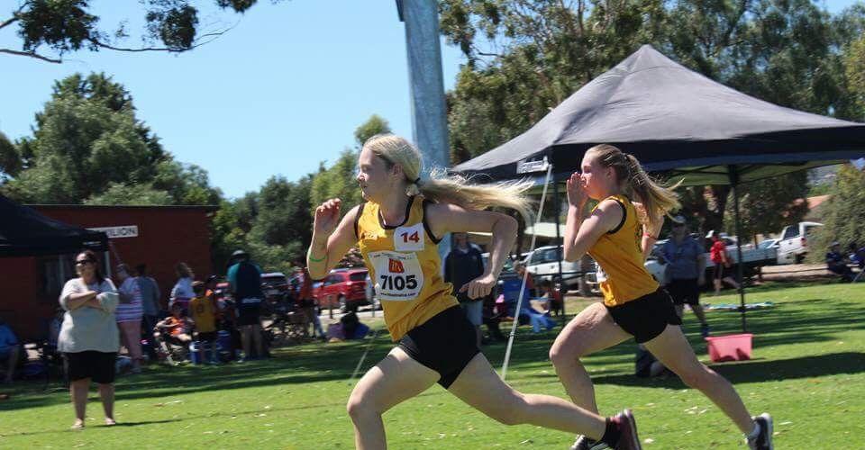Kelvale Little Athletics members lap up the big club feel