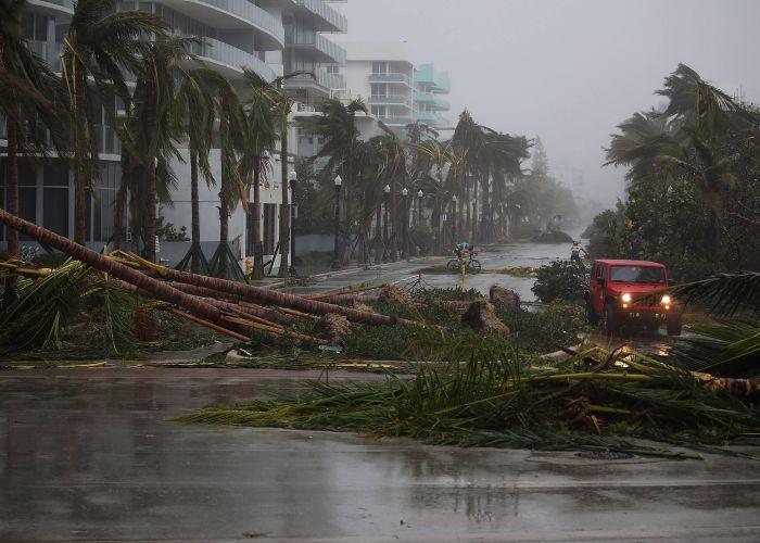 Hurricane Irma. Picture: Joe Raedle/Getty Images