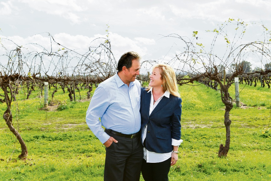 Charlie Zannino and his wife Sally.