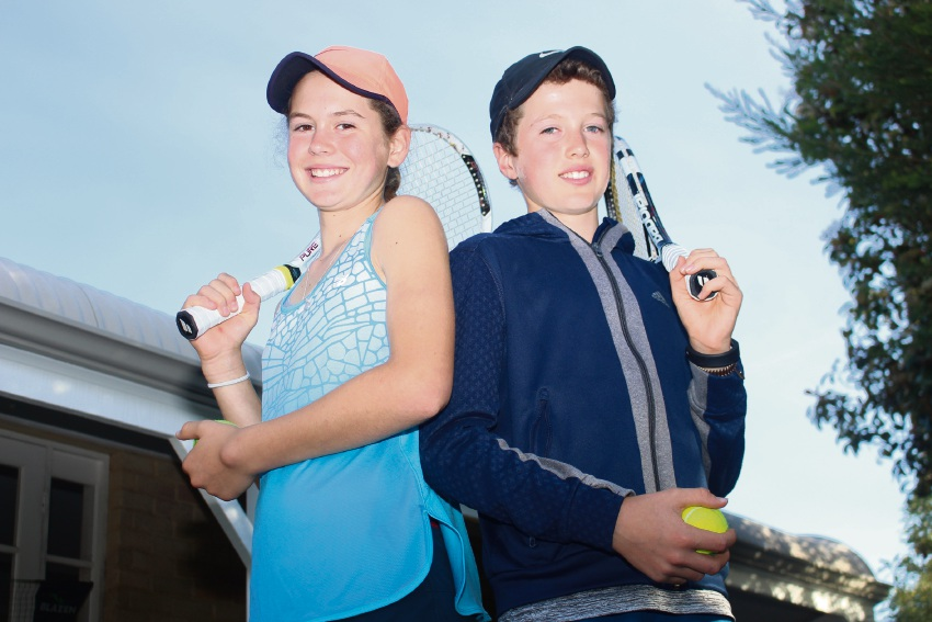 Twins Lily and Jay Fairclough have been selected to play for WA in the Bruce Cup.