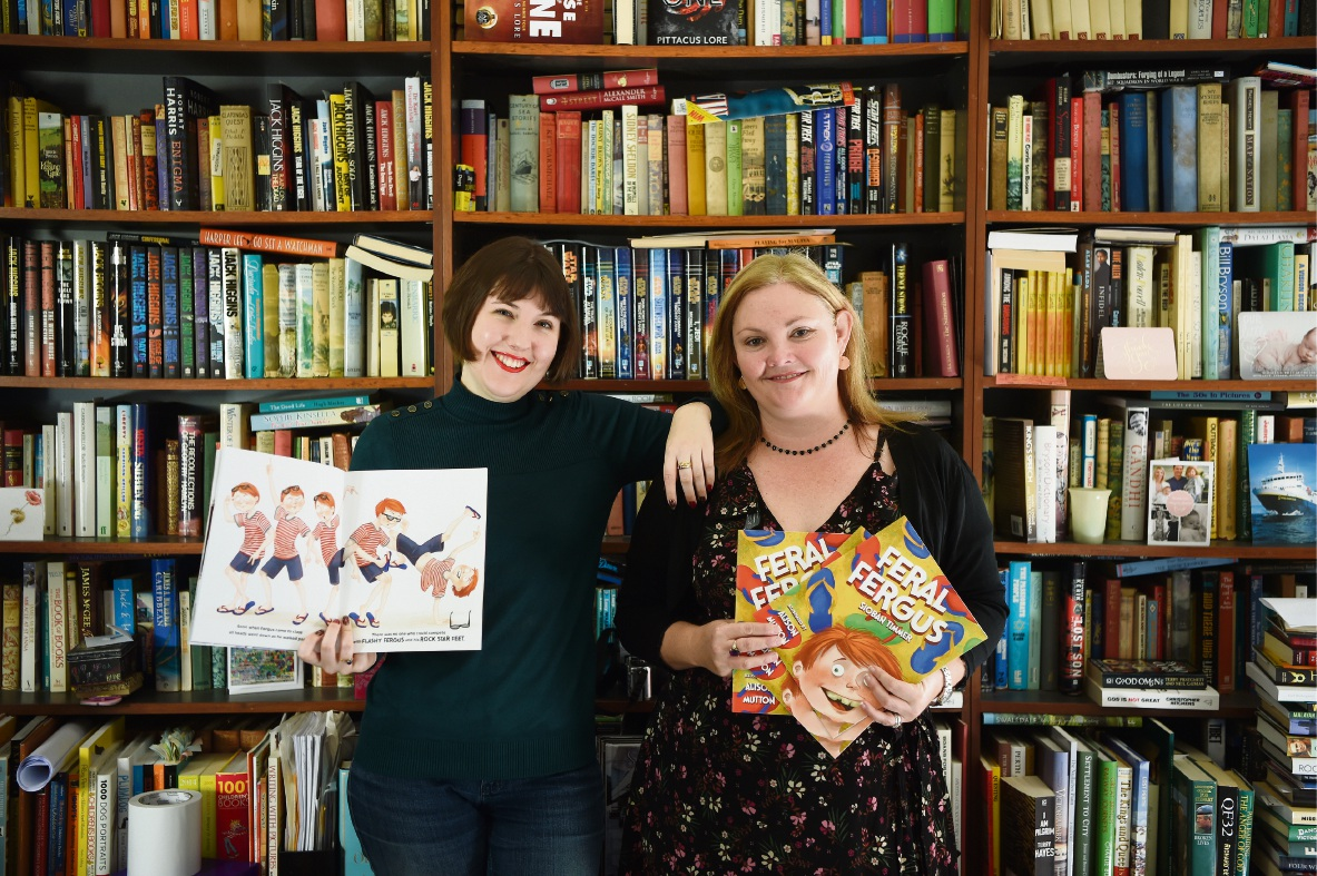 Feral Fergus: St James illustrator teams up with Byford author on new kids book