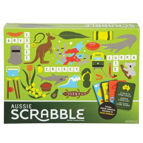 Strewth! Aussie version of Scrabble to be released this month