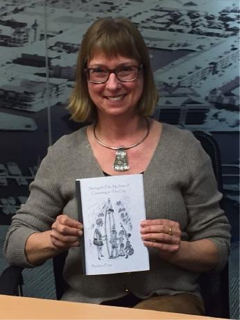 Author Barbara Fretz.