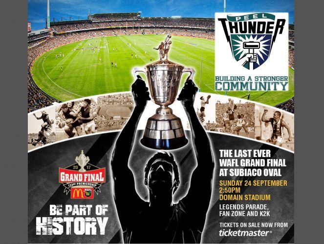 Win tickets to WAFL Grand Final