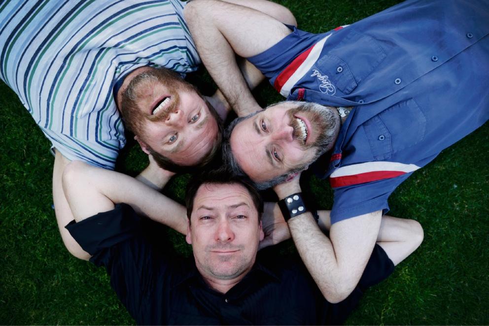 Sean Walsh, Sam Longley and Damon Lockwood.