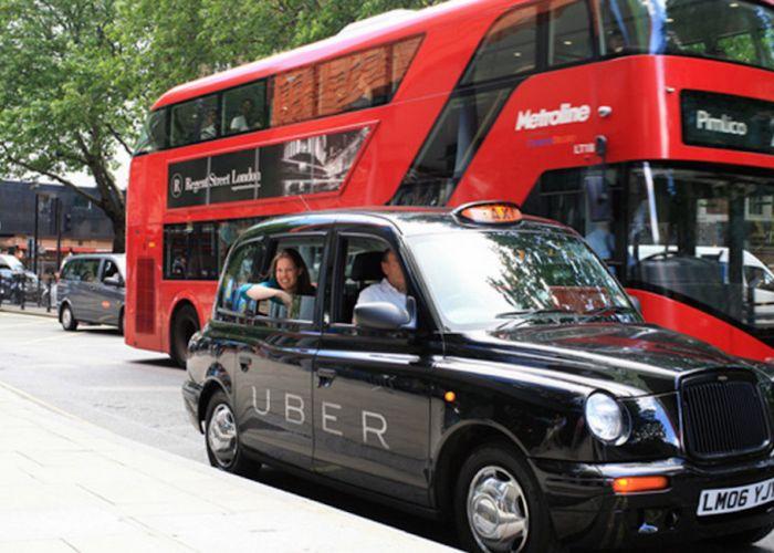 Uber goes hybrid in UK