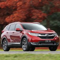Honda CR-V launches into space