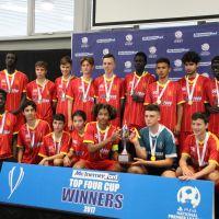 Stirling Lions under-15s NPL WA team.