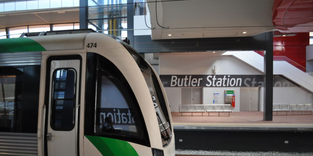 no trains between clarkson and butler on saturday