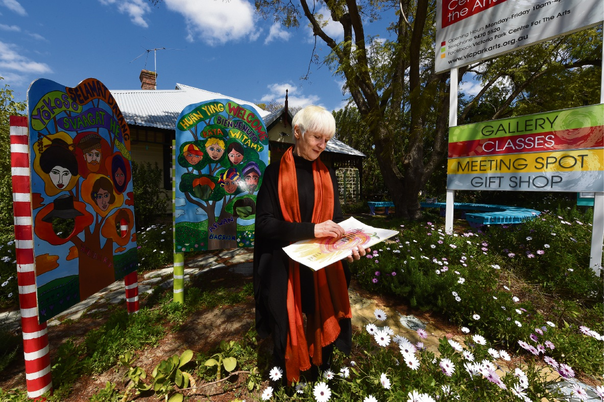 Victoria Park artist shows how art therapy can help overcome trauma