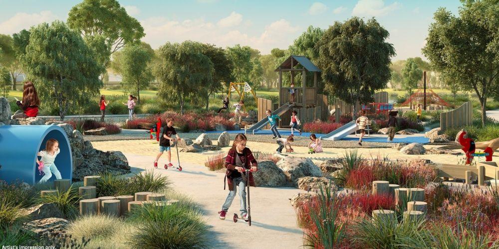 Stunning new adventure playground opening in Aveley this Saturday