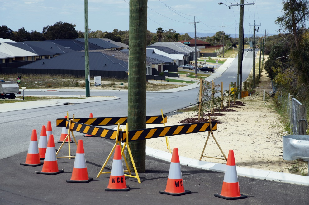 Candlestick Avenue in Landsdale. Picture: Martin Kennealey d474980