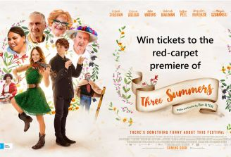 Win tickets to the official Three Summers premiere and after party