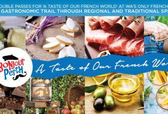Win a Bonjour Perth Festival Experience