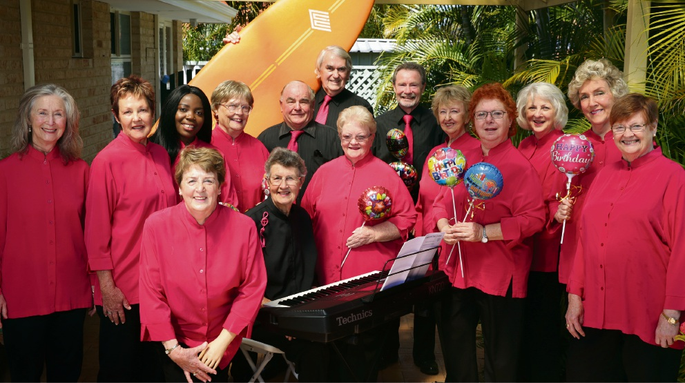 Wanneroo Civic Choir. Picture: Martin Kennealey d474732