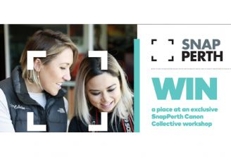 Win 1 of 25 places at an exclusive SnapPerth Canon Collective Masterclass