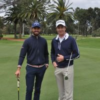 Curtis Luck and Brett Rumford will compete for the WA Open crown.