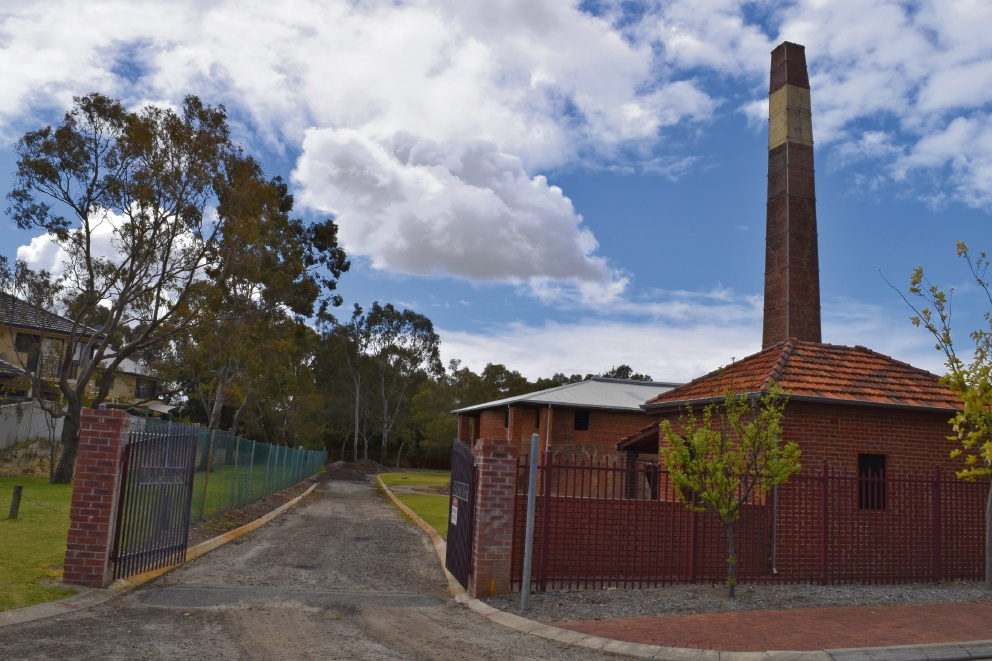 The vacant Maylands Brickworks site.