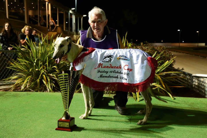 Handler Bevan Marshall with Astrozone.