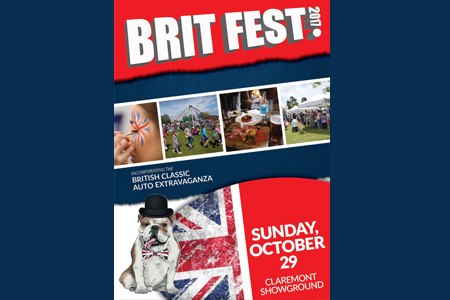 Win tickets to BRITfest 2017