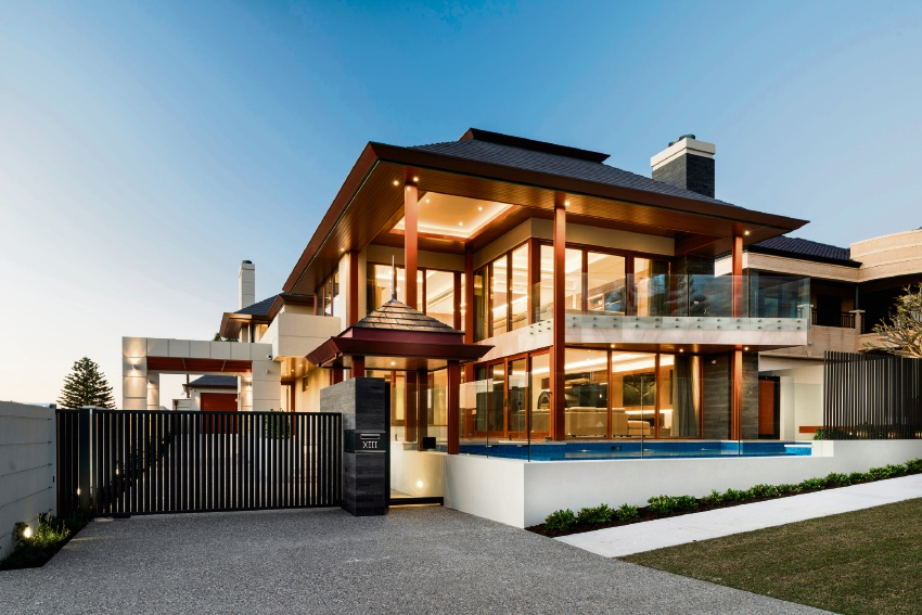The Watermans Bay home by Spaddaccini Homes.