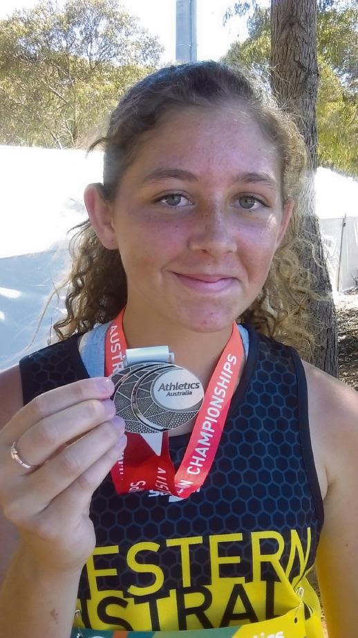 Shelley javelin thrower Myka Richards.