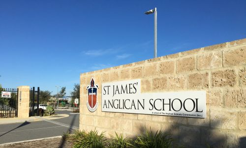 St James Anglican School.