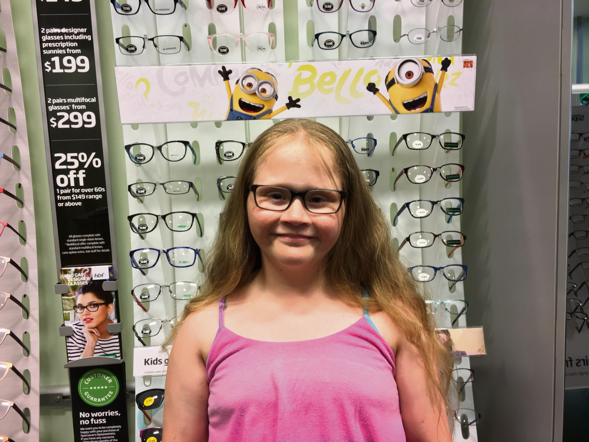 Maddington's Lillian Pettit suffers from short-sightedness.