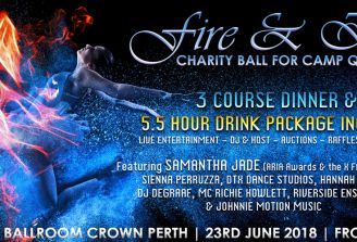 Win Platinum VIP tickets to Fire & Ice Charity Ball for Camp Quality