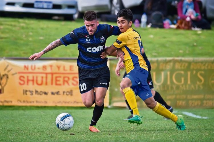 Bayswater City star Gustavo Maralunda suffered an injury in last week's Inglewood United win. Photo credit: Jonny Warr Photographer