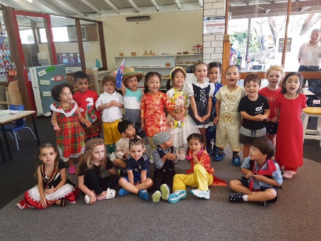 Banksia Montessori School celebrates Harmony Day.