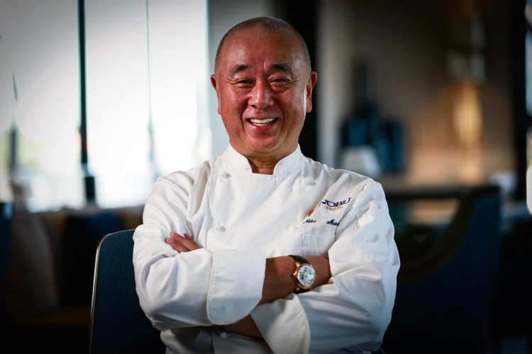 Nobu co-owner Nobu Matsuhisa. Picture: Andrew Ritchie