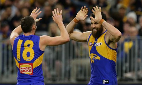 Josh Kennedy. Picture: Will Russell/AFL Media/Getty Images