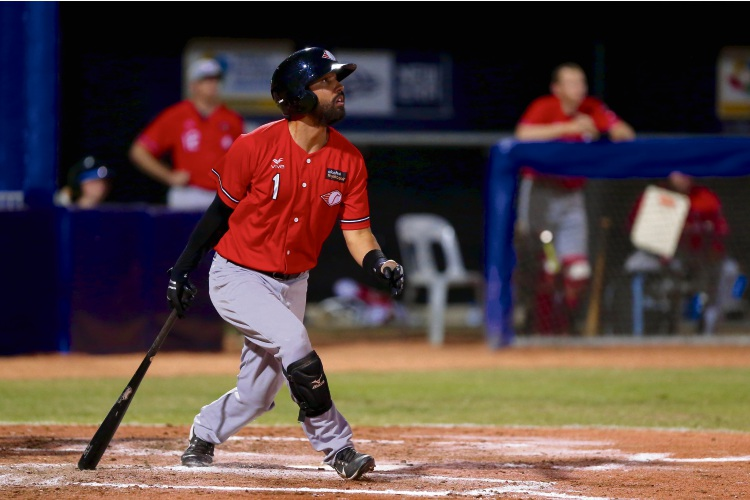 Joey Wong in action for the Perth Heat. Picture: SMP Images