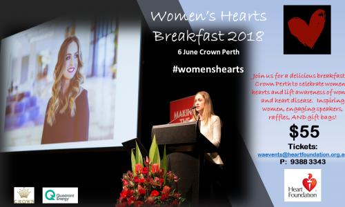 Women's Hearts Breakfast 2018