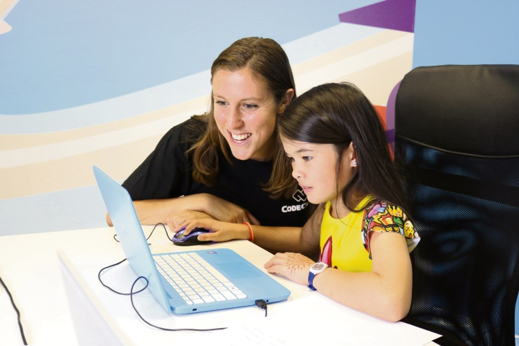 Code Camp's Mary Hall with Sarah Yep (9).