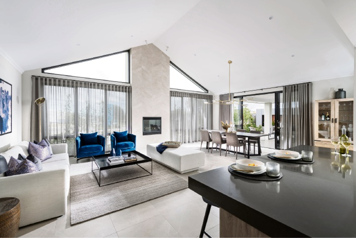Calleya display village features latest home building designs