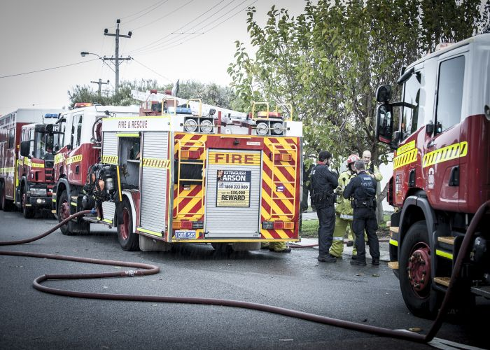 A dryer may have caused a fire in Greenwood yesterday. Picture: Josh Tucker