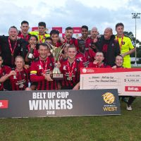 Armadale won the Belt Up Cup on Saturday. (Credit: FotoEnzo/Football West)