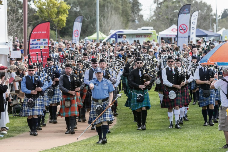 The Armadale Kilt Run is on again in September.