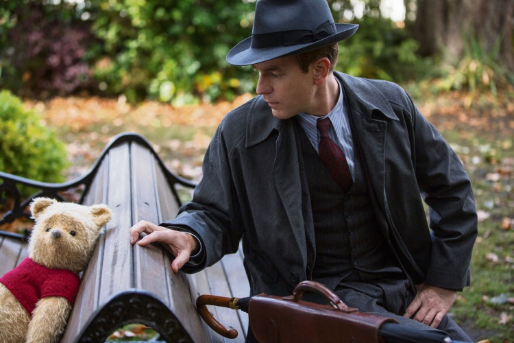 Ewan McGregor in Christopher Robin.