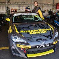 Jake Burton at Sandown International Motor Raceway. Photo by Rhys Vandersyde at Insyde Media.