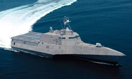 A US Navy Littoral Combat Ship.