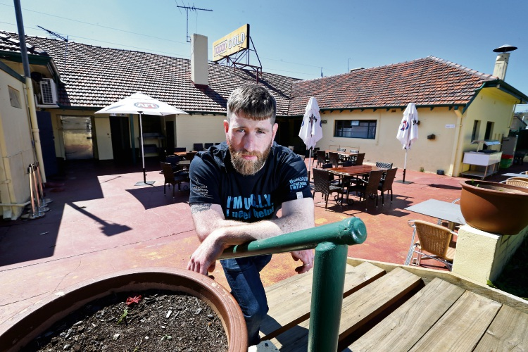 Ryan Brennan is the Venue Manager at the Tavern at Sawyers Valley. Photo: David Baylis