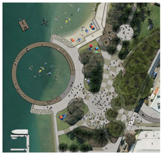 There are plans to completely transform Mandurah foreshore