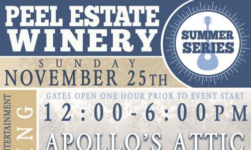 Peel Estate Winery Summer Series – 25 November